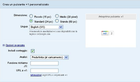 Bottone Google +1