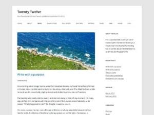 layout tema WordPress