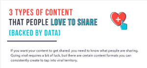 contenuti condivisioni social network