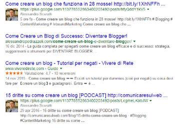 SERP Google SEO