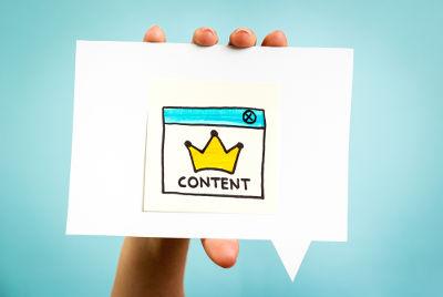 creare contenuti web